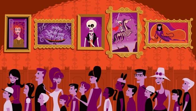 Shag Haunted Mansion Art