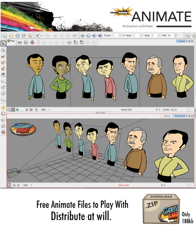 Free ToonBoom Animate Source files