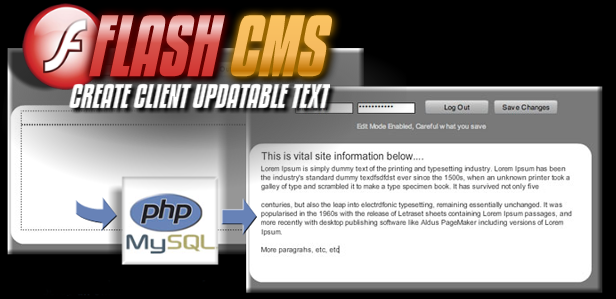 Flash CMS tutorial