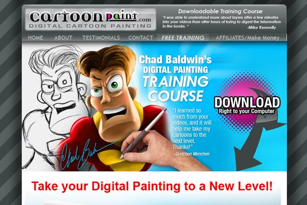 Digital Painting - CartoonPaint.com