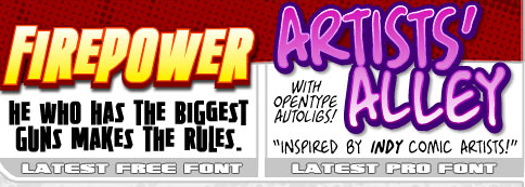 Click to download Firepower Font for FRREEEEEE!