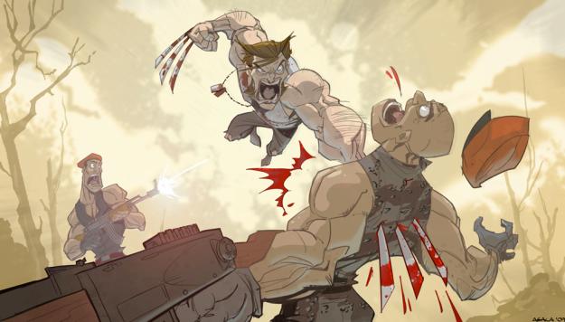 Wolverine by Jeff Agala