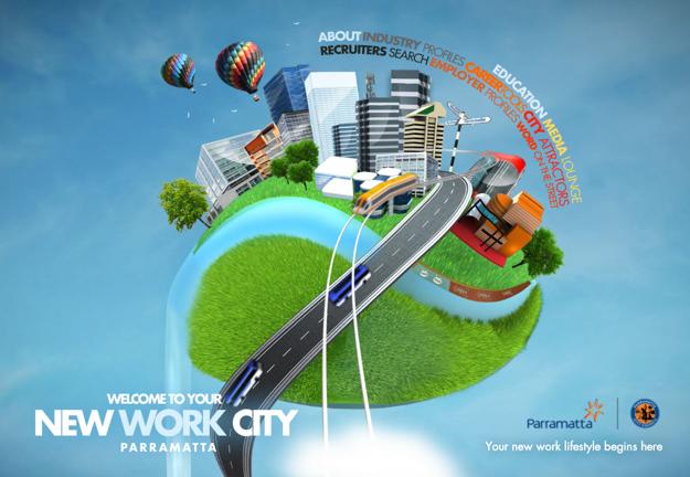 New Work City Flash site