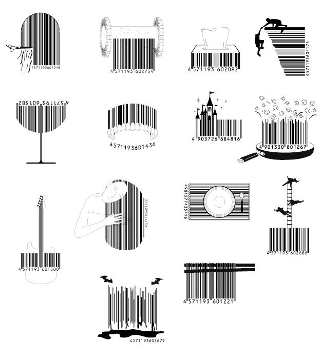 Artsy Barcodes