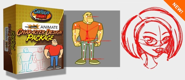 Toon Boom Character Design Tutorial : Toon boom animate character design package
