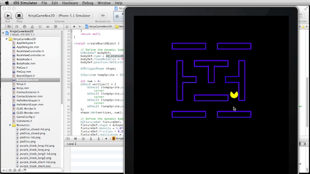 Pac-it-up! The final lesson on Box2D is available for
