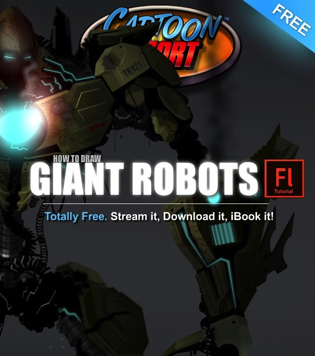 How to Draw Giant Robots Tutorial