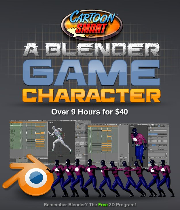 A Blender Game Character - Tutorial
