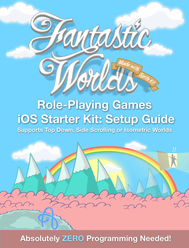 Fantastic Worlds iOS Starter Kit for Side Scroller, Top Down or Isometric RPG Games