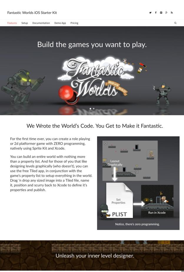 iOS Starter Kit Webpage